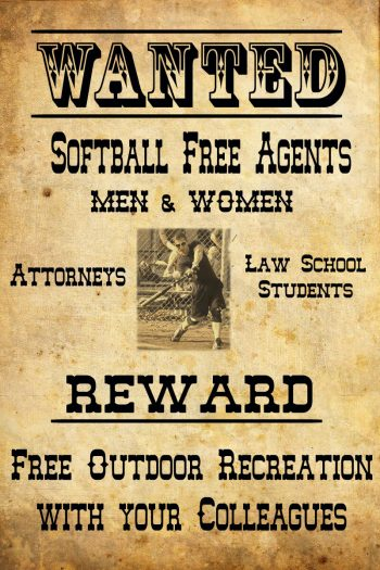 Softball Free Agents Wanted